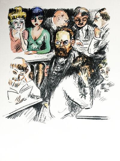 """Kees van Dongen, 'From """"La Révolte des Anges""""', 1951"""