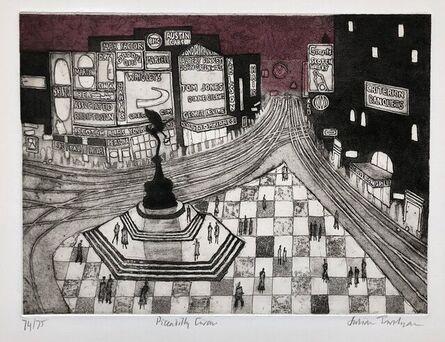 Julian Trevelyan, 'Piccadilly Circus', 1964