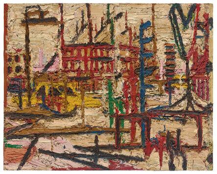 Frank Auerbach, 'Mornington Cresent', 1965