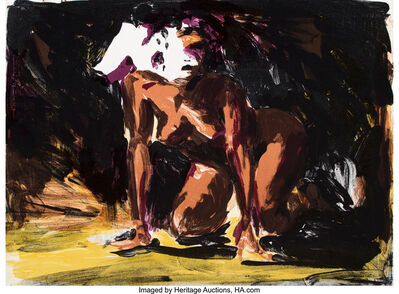 Eric Fischl, 'Woman on all fours', 1986
