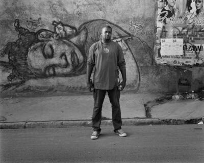 Laura Heyman, 'Jerrry Rosembert With His Work, Petionville, March 2014', 2014