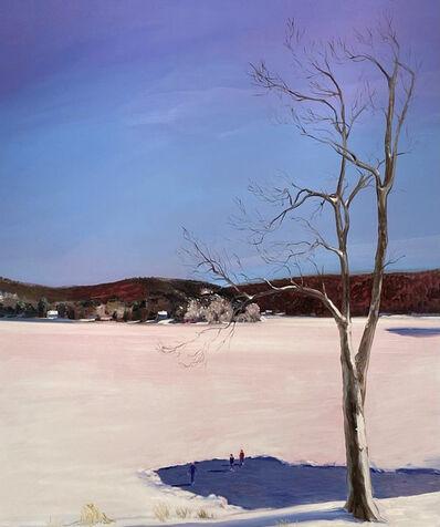 Sebastian Blanck, 'Ice Rink Lake', 2021