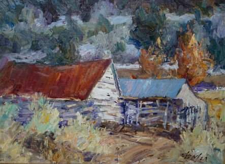 Gordon Fowler, 'Taos Barns ', 2017