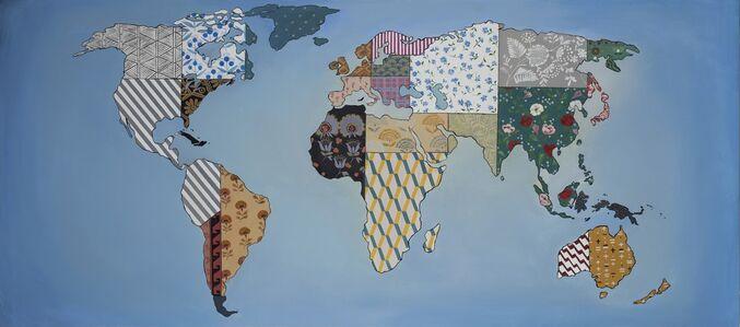 Pavel Pepperstein, 'World Map', 2018