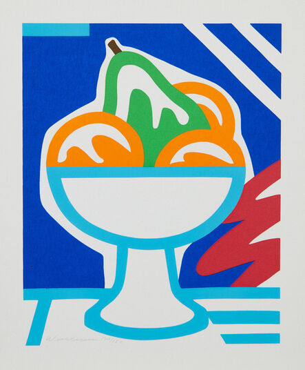 Tom Wesselmann, 'Still Life with Pear and Oranges', 1998