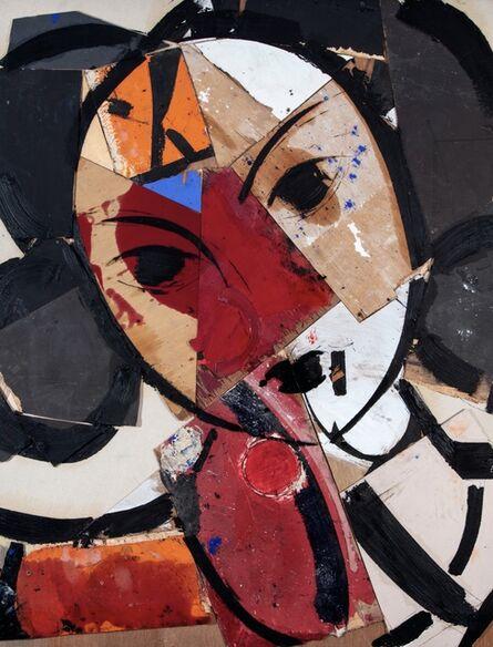 Manolo Valdés, 'Matisse como Pretexto con Azul y Rojo', 2020