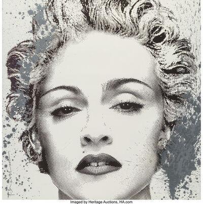 Mr. Brainwash, 'Happy Birthday Madonna (Silver)', 2017