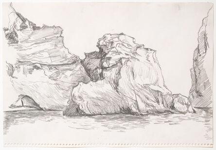 Paul Thek, 'Untitled (Cliffs)', October 1970