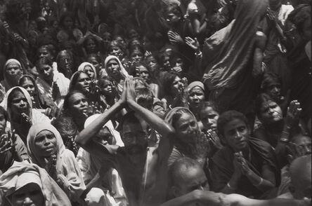 Henri Cartier-Bresson, 'Funeral of the Bhagwan Sri Ramana Maharshi, Tiruvannamalai, India', 1950
