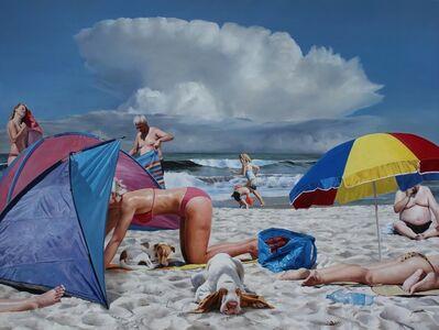 Rolf Ohst, 'Dogsbeach', 2015