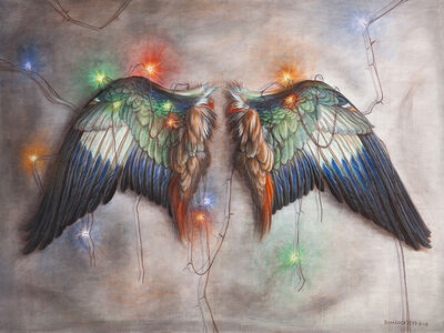 Biimrock 石磊, 'Wings', 2014