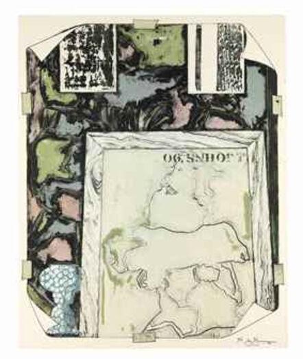 "Jasper Johns, '""Untitled (ULAE 258)""', 1992"