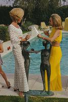 Slim Aarons, 'Helen & Nelda by the Pool', 1970