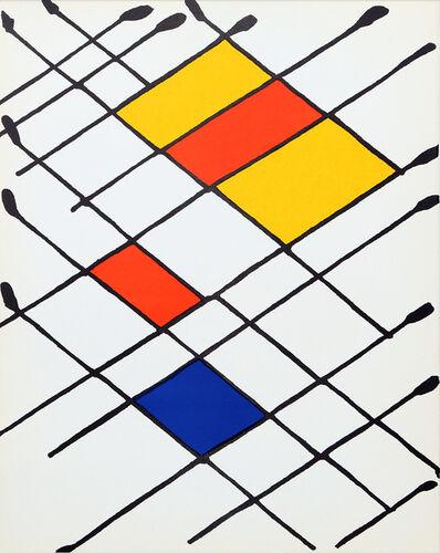 Alexander Calder, 'D'aimer from Derrière le Miroir ', 1966