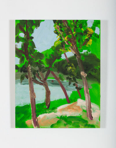 Nicole Wittenberg, 'Green Green Green', 2020