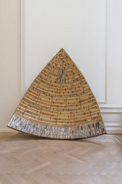 Elias Sime, 'Concave Triangle', 2020