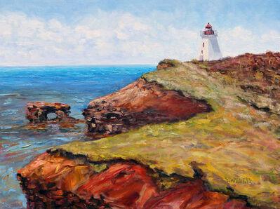 Terrill Welch, 'Cap Egmont Lighthouse PEI', 2016