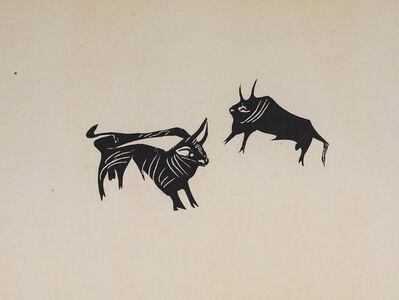 Pablo Picasso, 'Deux Petits Taureaux (Two Little Bulls), 1949 Limited edition Lithograph by Pablo Picasso', 1949
