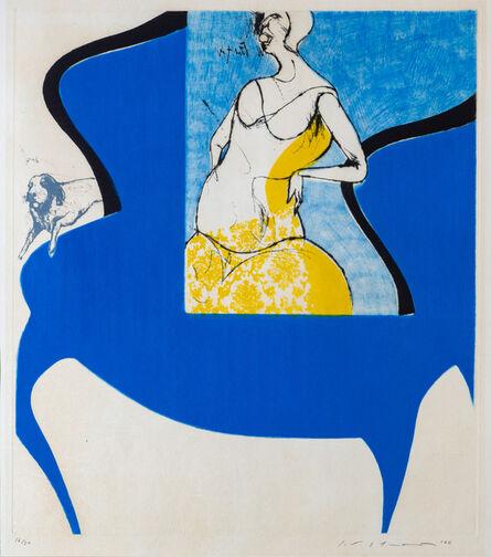 Masuo Ikeda, 'Blue Chair', 1966