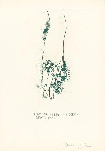 Jim Dine, 'Oscar Wilde, The Picture of Dorian Gray (Galerie Mikro 47A-J)', 1968