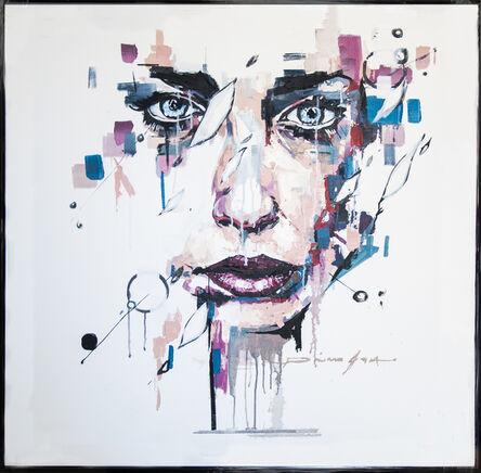 Pierre Issa, 'Blue Eyes Woman', 2018