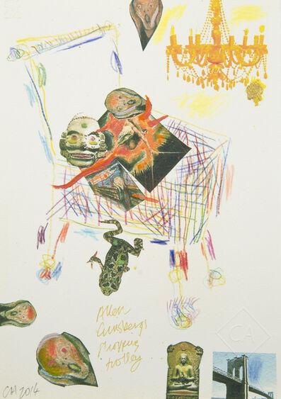 Conrad Atkinson, 'Allen Ginsberg's Shopping Trolley', 2014