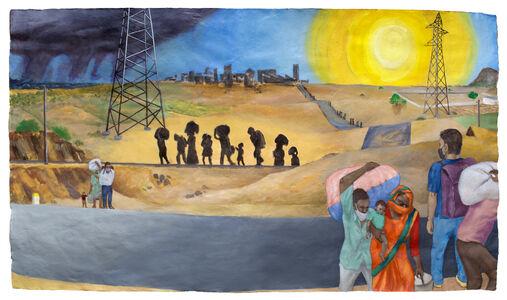 Sudhir Patwardhan, 'Distant City', 2020