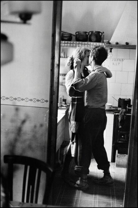 Elliott Erwitt, 'Valencia, Spain (Robert & Mary Frank)', 1952