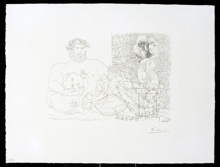 Pablo Picasso, 'Vollard Suite – Sculptor and Model', 1933
