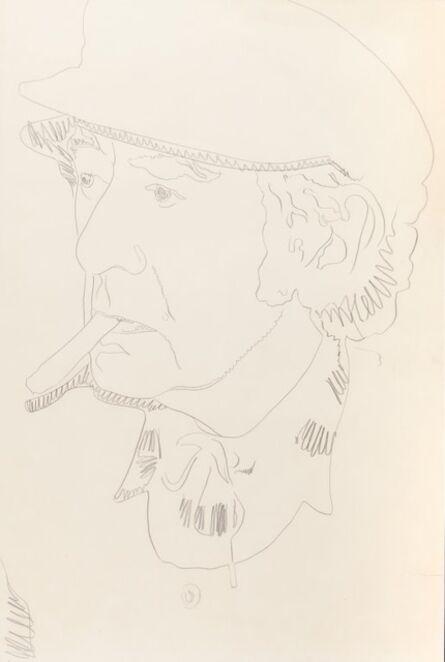 Andy Warhol, 'Man Ray', 1974