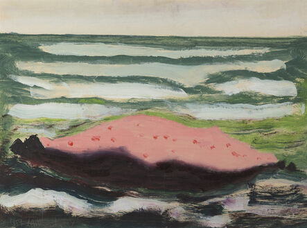 Milton Avery, 'Pink Island, White Waves', 1959