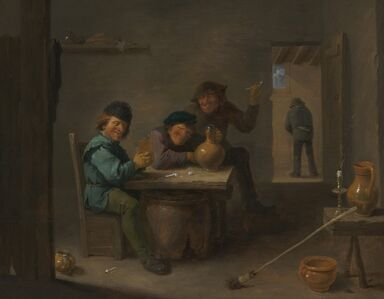 David Teniers the Younger, 'Peasants in a Tavern', ca. 1633