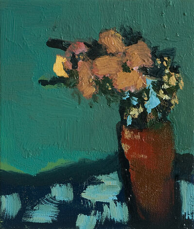 Jennifer Hornyak, 'Apricot with Grey Blue', 2014