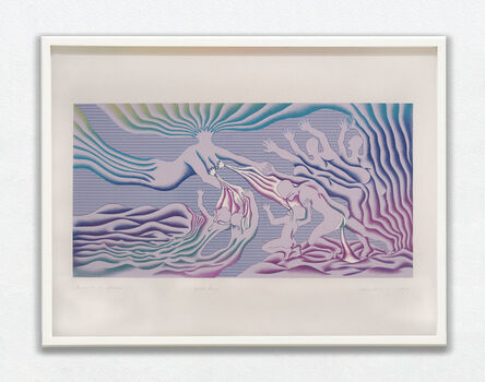 Judy Chicago, 'Guided by the Goddess', 1985