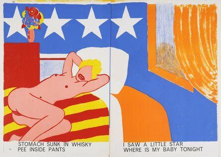 Andy Warhol, 'Illustrations, One Cent Life, Bern: E.W. Kornfeld', 1964