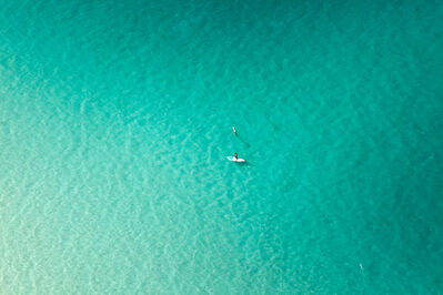 Jill Peters, 'Lone Paddle Boarder', 2015