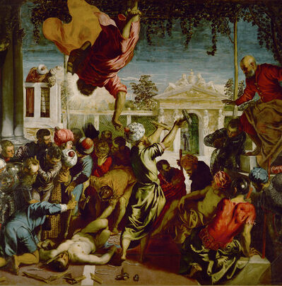 Jacopo Tintoretto, 'Detail of The Miracle of St. Mark freeing a Slave', 1548