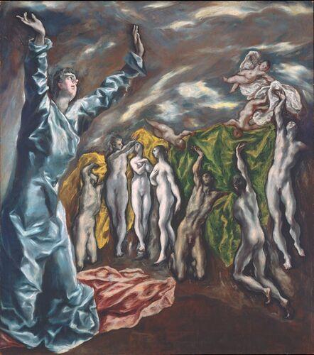 El Greco, 'The Vision of Saint John', 1608-1614