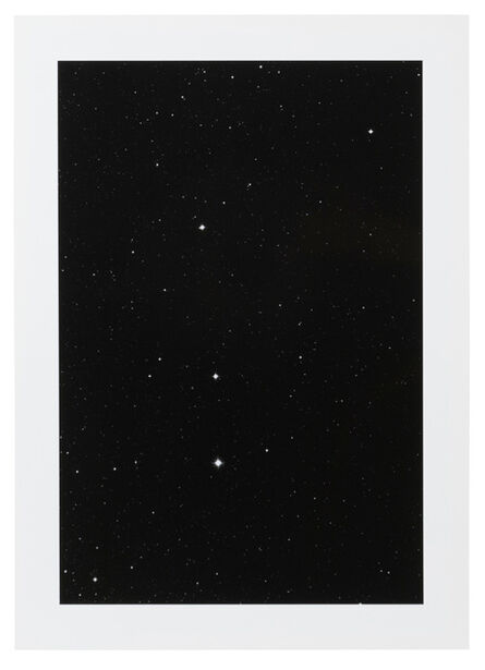 """Thomas Ruff, '20h 00m / -35°, from the """"Sterne"""" series', 1992"""
