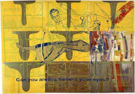 Sigmar Polke, 'Can you always believe your eyes?', 1976