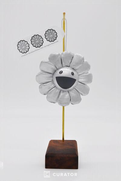 Takashi Murakami, 'Flower Pin (Silver)', 2010-2019
