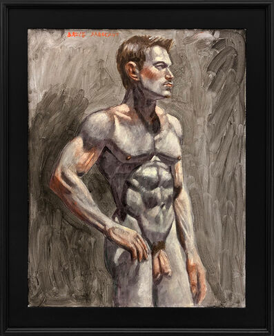 Mark Beard, '[Bruce Sargeant (1898-1938)] Male Nude Facing Right', n.d.