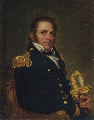 'Portrait of a naval officer, half-length, possibly Charles Goodwin Ridgely (1784-1848)'