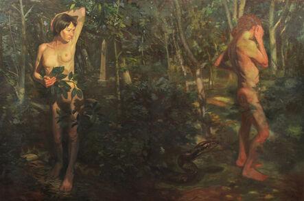 James Hoston, 'Adam and Eve in Brooklyn', 2016