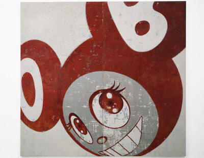 Takashi Murakami, 'And Then, And Then And Then And Then And Then (Red)', 1996