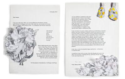 Joanne Grune-Yanoff, 'October Letter, MLM-JGY', 2014