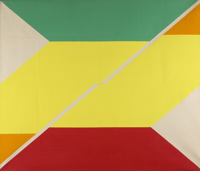 Larry Zox, 'Diagonal IV', 1967