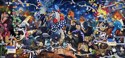 Philip Colbert, 'Dark Hunt Triptych', 2018