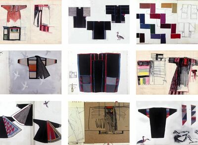 Chant Avedissian, 'Costume Sketches 1985-1987', 2017