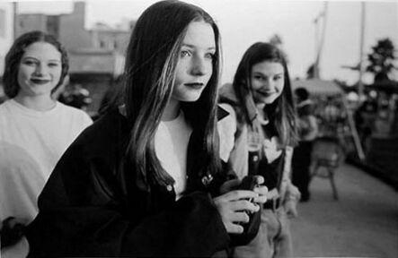 Mark Steinmetz, 'Venice, California (three girls)', 1994
